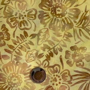 Yellow Gold Floral